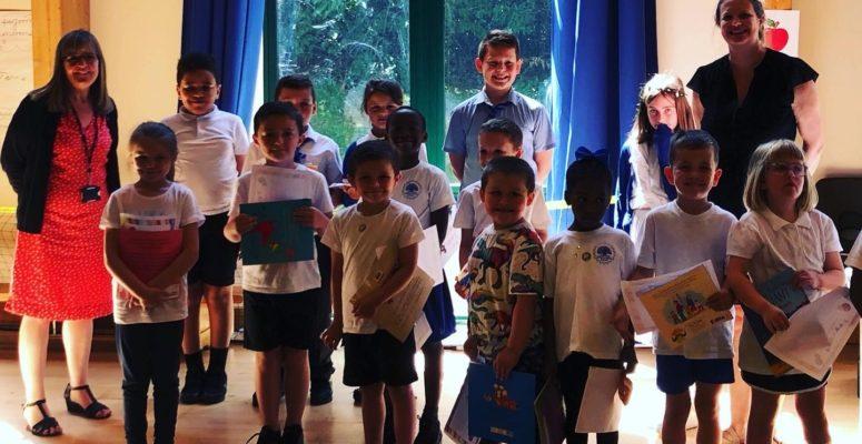 Celebration event at Castlecombe School