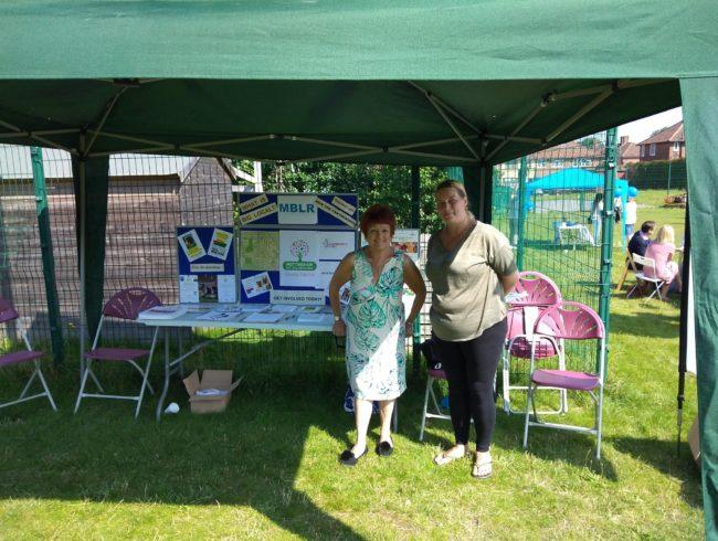 Resident Board members at Mottingham Fun Day